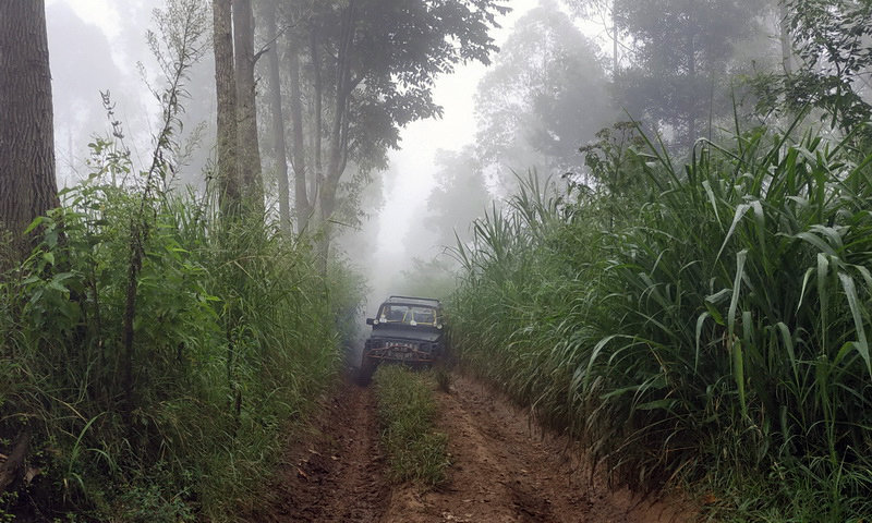 jeep offraod di puncak