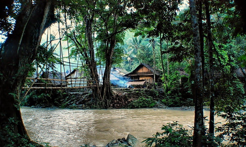 jembatan rawayan baduy