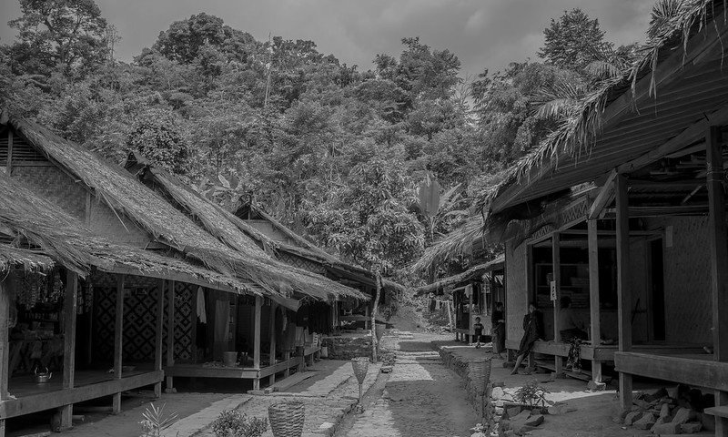 kampung suku baduy dalam