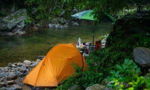 tempat camping, glamping tenda