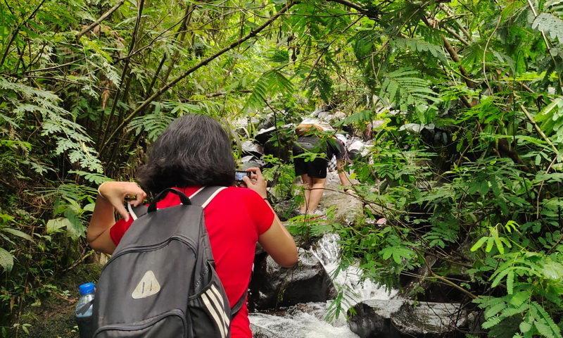 river trekking puncak bogor